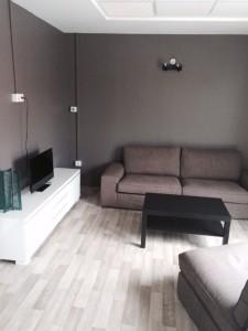L'intérieur de l'appartement expérimental, semblable à un appartement lambda.