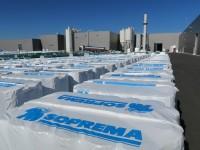 Soprema vise l'usine 100% électricité renouvelable (diaporama)