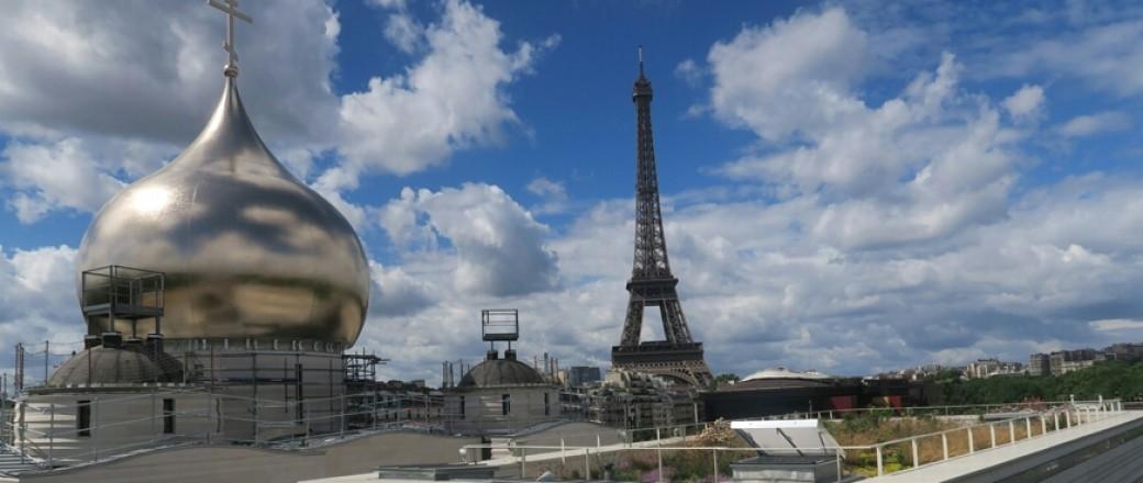 Visite architecturale de la cathédrale orthodoxe de Paris (diaporama)