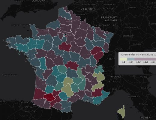 Pesticides dans les eaux souterraines : record dans le Loiret